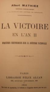 Couv Mathiez Victoire an II