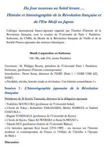 Programme franco-japonais 1