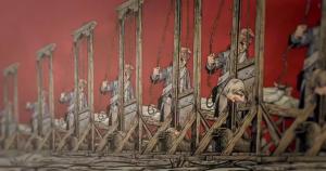 Enfilade de guillotines
