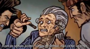 Robespierre veut s'échapper